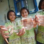 Maintain water filtering system in Thai local school