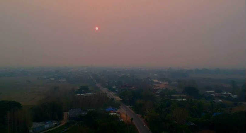 Recent haze and air pollution in Chiang Mai