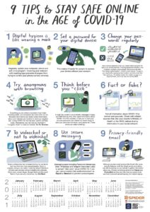 9 Tips to Stay Safe Online in the Age of COVID-19 (English)